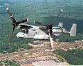 V-22 Osprey flies over Lexington Park.JPG