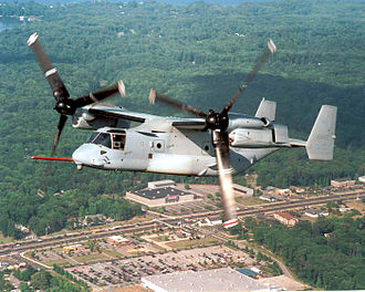 Twenty-Third Air Force - 18th Flight Test Squadron testing a V-22 Osprey