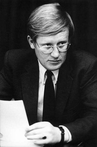 Hans Wiegel - Hans Wiegel as Parliamentary leader of the People's Party for Freedom and Democracy in the House of Representatives in 1971.