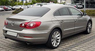 Volkswagen CC - Pre-facelift Volkswagen Passat CC (Europe)
