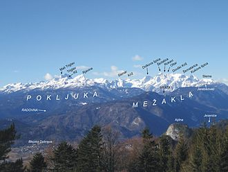 Julian Alps - The Eastern Julian Alps and Mount Triglav