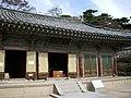 Vairocana Hall 비로전 毘盧殿 (5285137960).jpg