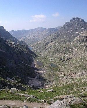 Vallée des merveilles - Landscape of the Vallée des Merveilles seen from the Baisse de Valmasque