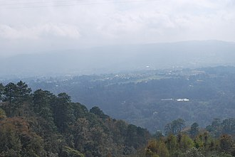 Huauchinango - Valley area near the city