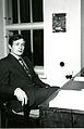 Valtionarkisto 1972. Martti Favorin, Vaasan maakunta-arkiston arkistonhoitaja. Kansallisarkisto.jpg