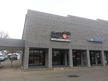 A vape shop in Lincoln, Nebraska, United States.
