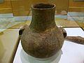 Vas amb decoració cardial impresa, Museu de Prehistòria de València.JPG