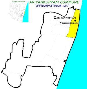 Ariyankuppam Commune - Image: Veerampattinam AKM