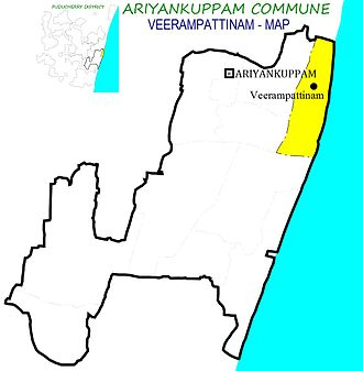Veerampattinam - Veerampattinam Village in Ariyankuppam Commune