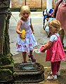 Venice city scenes - what child doesn't want to play at the fountain - aah, tyo be youg again - (11002491683).jpg