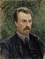 Venny Soldan-Brofeldt - Portrait of Juhani Aho (1891).jpg