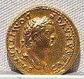 Vespasiano, aureo per domiziano cesare, 72-79 ca. 04.JPG
