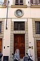 Via alfani 32-34, palazzo dell'arte della lana, tabernacolo di san luigi gonzaga 01.JPG