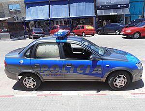National Police of Uruguay - police vehicle.