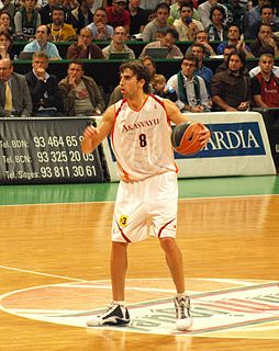 Spanish professional basketball player