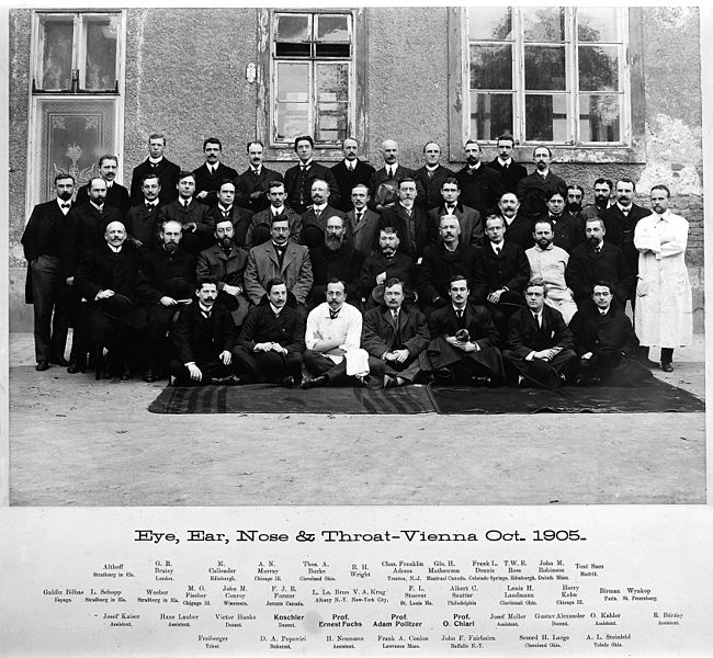 File:Vienna Group Portrait - Ear, Eye, Nose and Throat, 1905 Wellcome M0017756.jpg