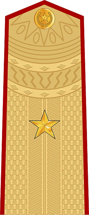 Major general - Image: Vietnam People's Army Major General
