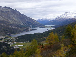 High valley - The upper Engadine