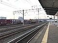 View from platform of Nabeshima Station.jpg