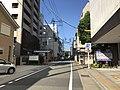 View in front of Hakata-Machiya Furusato Museum.jpg