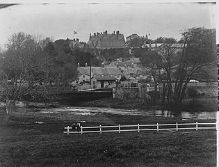 View of St Fagans & Castle