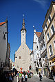 View of the Church of the Holy Ghost, Old Town in Tallin, Estonia, Northern Europe-2.jpg