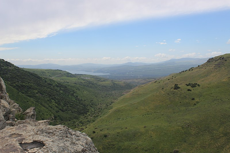 File:View of the Sea of Galilee from Gamla fortress.jpg