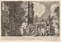 View of the arches of the consuls Dolabella and Silanus enclosed within the Neronian arches of the Acqua Claudia, from the series 'Roman Antiquities' (Le Antichità Romane) MET DP832626.jpg