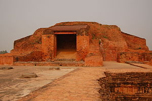 Vikramashila - The Main stupa at the centre