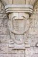 Villach Innenstadt Gerbergasse 3 Jugenstilhaus Erker-Basis Wappenreliefs 03072018 3828.jpg