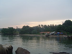 Pulau Ubin - Village on the island