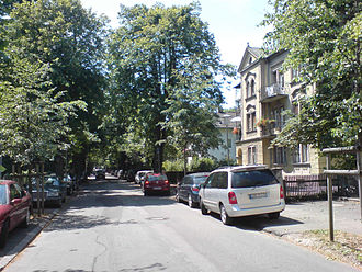 Starnberg - Residential area in Starnberg
