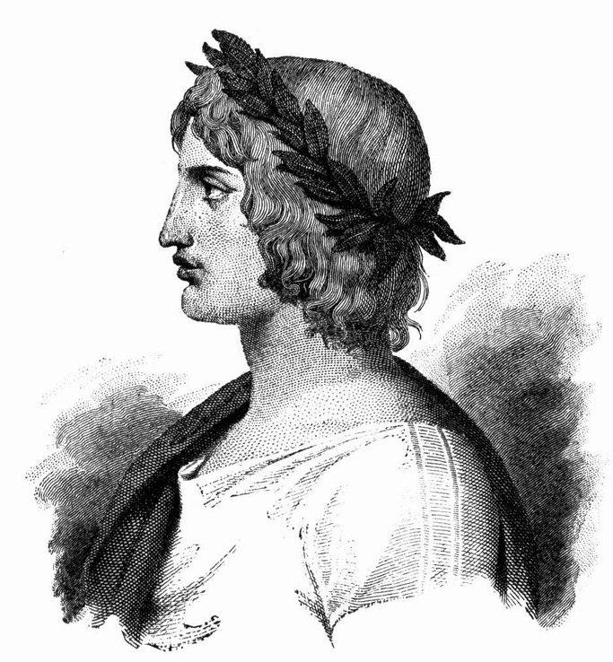 Depiction of Virgil