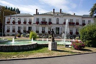 Viry-Châtillon - The town hall in Viry-Châtillon