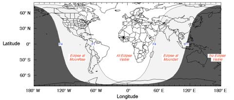 Resultado de imagen para eclipse del 11 de febrero de 2017