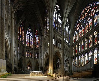 Valentin Bousch - Stained glasses of the choir and south transept, cathedral of Metz