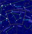 Volans constellation map-fr.png