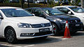 Volkswagen Test Drive Cars (left to right; Passat 1.8 TSI, Polo GTi) in Glenmarie, Malaysia.jpg