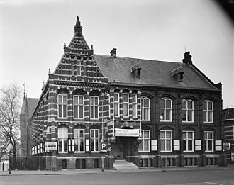 Groninger Museum - The former building of the Groninger Museum in 1975