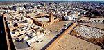 Vue aérienne de la Grande Mosquée de Kairouan, en Tunisie.jpg