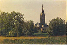 The church in Herzeele