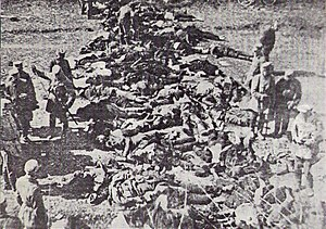 Vyborg massacre - Executed Russians at the Annenkrone Fortress