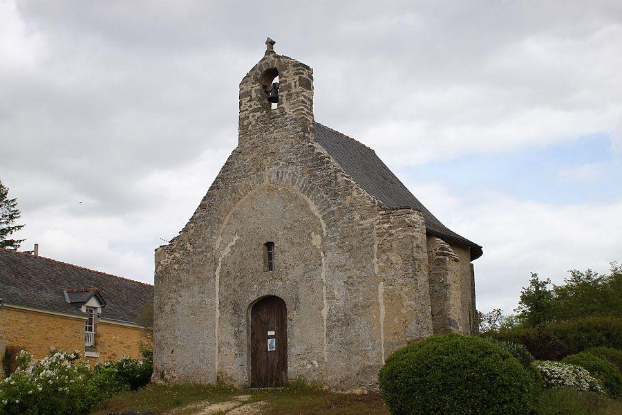 Chapelle Saint-Arnoult, Sousigné, Fr-49-Martigné-Briand.