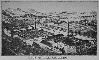 Waffenfabrik Bern - Waffenfabrik Bern, 1876