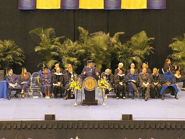 Western Governors University Commencement Ceremony in 2013 WGUGraduation.jpg