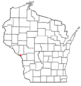 Location of Trempealeau, Wisconsin