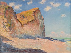 Claude Monet: Cliffs near Pourville