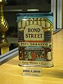 WLA nyhistorical Tobacco tin Bond Street Pipe Tobacco.jpg