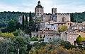WLM14ES - Vista general del Reial Monestir de Santes Creus, Aiguamurcia, Alt Camp - MARIA ROSA FERRE (3).jpg