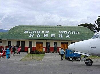 Wamena Airport, Papua Province, Indonesia